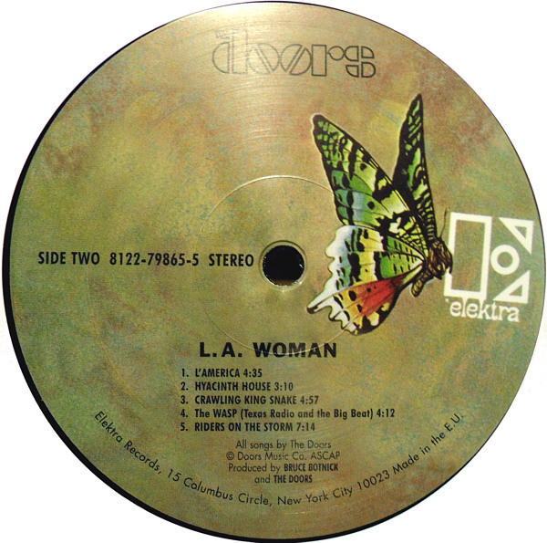 The Doors L A Woman Lp To Diskadiko Music Store